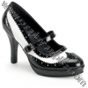 CONTESSA-06 Black & White Patent